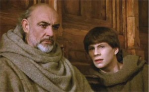 Sean Connery & Christian Slater monk it up in 'The Name of the Rose'