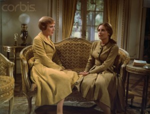 sound of music liesl and maria charmian carr julie andrews