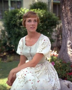 Julie Andrews as Maria sound of music