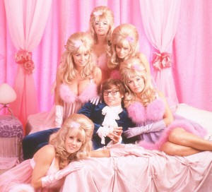 Fembots and Austin Powers