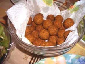 Falafel (not actually the batch I made)