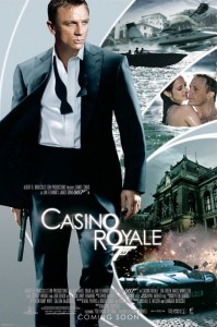 james bond casino royale daniel craig poster 007