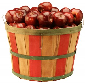 apples red apples basket