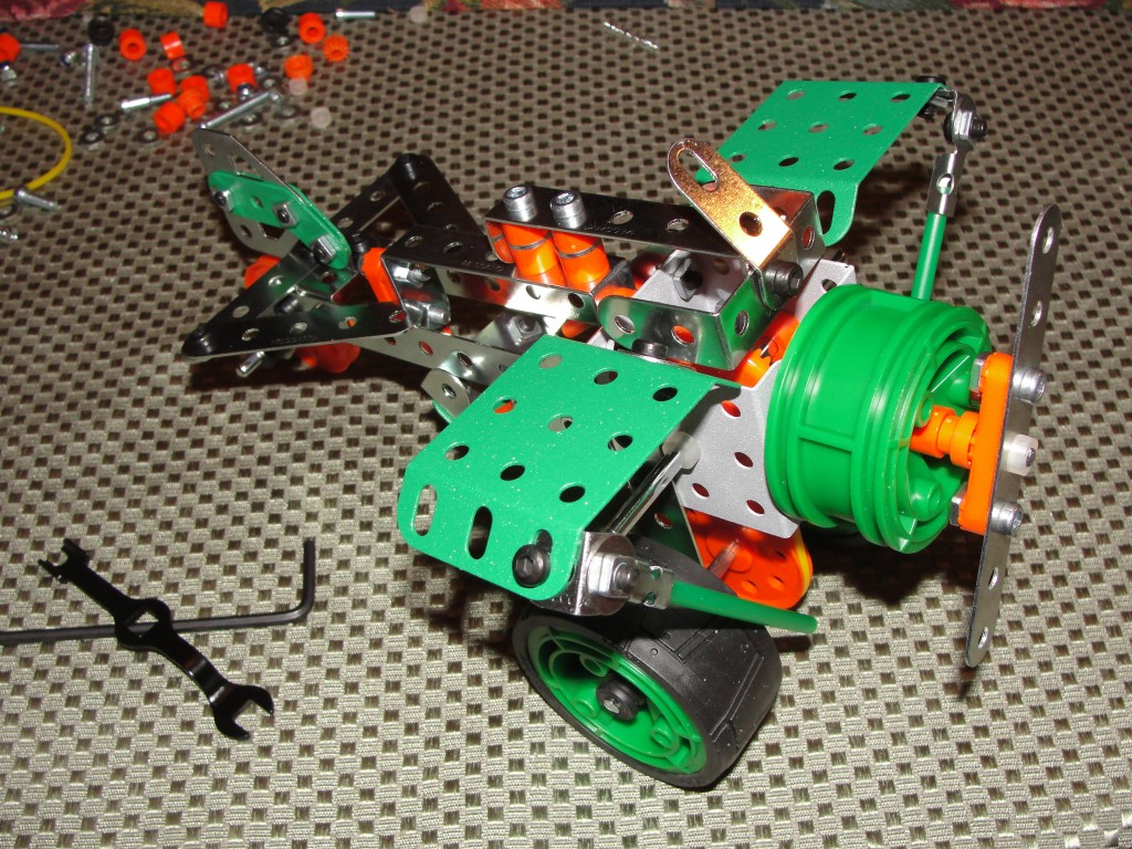 erector set plane meccano construction