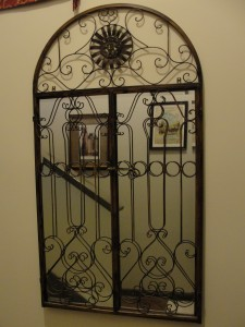 Mirror Gate Closed in the Entryway